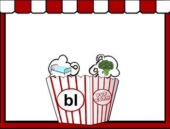 Popping Consonants Flipchart - Beginning Blends & Digraphs
