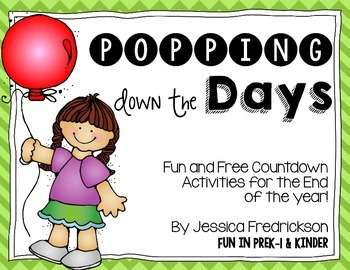 Popping Down the Days: Fun Countdown Activities for the En