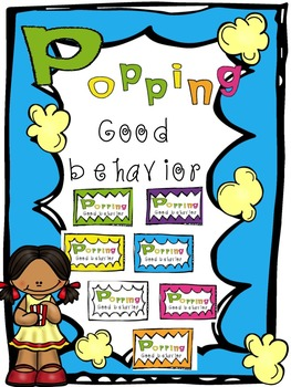 Popping Good Behavior: Classroom Management