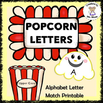Alphabet Letters - Popping Letters
