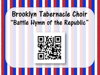 Popping Patriotic Performances! QR Posters