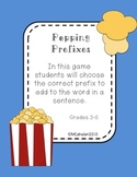 Popping Prefixes Grammar Center