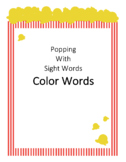 Popping Sight Words