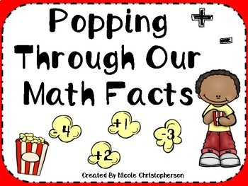 Popping Through  Math Facts