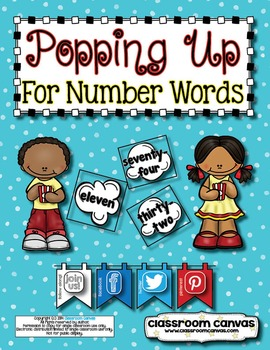 Popping Up For Number Words!