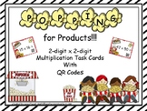 Popping for Products!!  2 x 2-Digit Multiplication Task Cards with QR Codes
