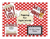 Popping for Sight Words