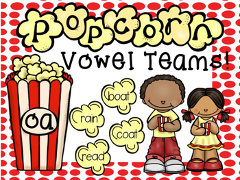 Popping for Vowel Teams!