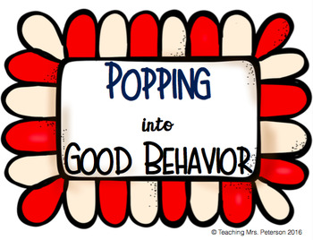 Popping into Good Behavior