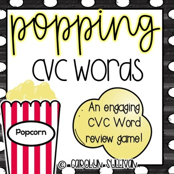 Popping with CVC Words - A Review Game!