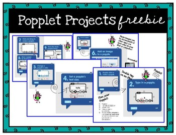 Popplet Projects with Printable Directions