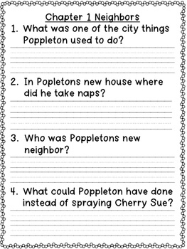 Poppleton {Book Companion & Printables}