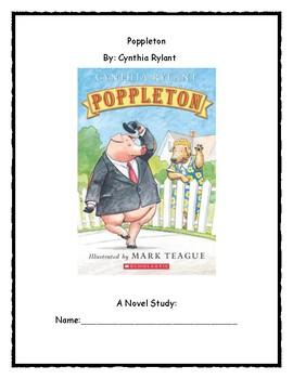 Poppleton Novel Study