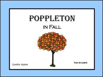 Poppleton in Fall ~ 25 Common Core Activities