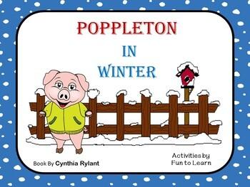 Poppleton in Winter - 47 pgs of Common Core Activities - New Activities!