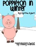 Poppleton in Winter Book Study Packet