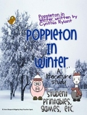 Poppleton in Winter Literature Study{Student printables and games}