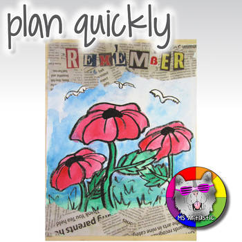 Poppy Art Project, Remembrance Day Art, Veterans Day Art