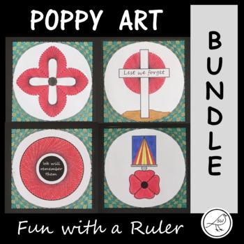 Poppy Art – BUNDLE  -  War Remembrance