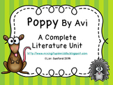Poppy By Avi,  A Complete Literature Unit