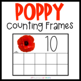 Poppy Counting Frames   Remembrance Day   Memorial Day