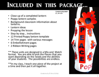 Poppy Craft  ::  Remembrance Day  ::  Memorial Day  ::  Anzac Day  ::  Peace