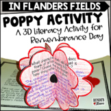 Remembrance Day in Canada - A Writing and Poppy Activity