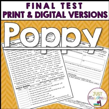 Poppy Final Test