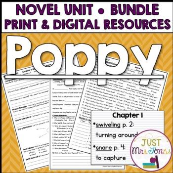 Poppy Novel Unit