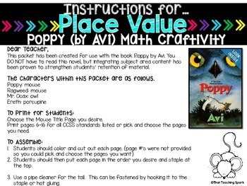 Place Value Craftivity Grades 2-4
