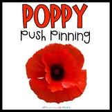 Poppy Push Pinning | Fine Motor Activity