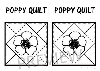 Anzac Day  -  Poppy Quilt