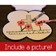 Remembrance Day Canada Poppy Shape Book