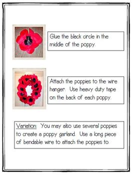 Remembrance Day - Poppy Wreath