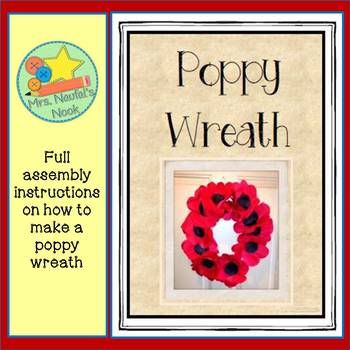 Poppy Wreath Craftivity