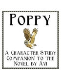Poppy by Avi - Character Study Booklet