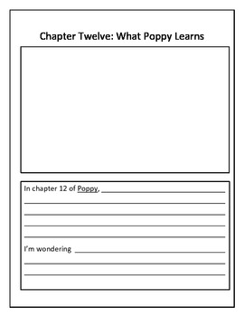 Poppy by Avi: Comprehension Strategies