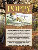 Poppy by Avi Novel Reading Literature Study Guide Complete!