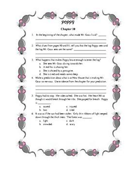 Poppy by Avi Teacher Packet