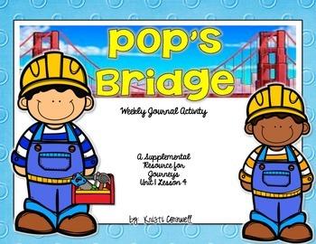 Pop's Bridge Journal  Booklet  3rd Grade  Journeys