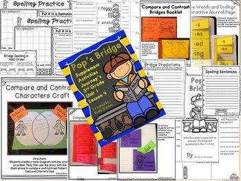 Pop's Bridge Journey's 3rd Grade Supplement Activities Unit 1 Lesson 4