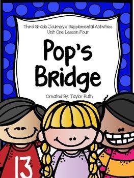 Pop's Bridge Journey's Supplemental Activities -- Third Grade Lesson 4
