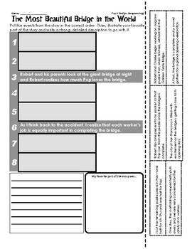 Pop's Bridge - Sequencing / Retelling