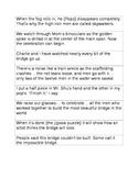 Pop's Bridge Sequencing Sentences