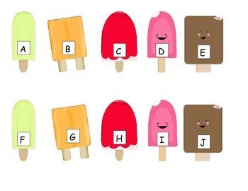 Popsicle ABC