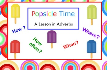 Popsicle Adverbs