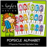 Popsicle Alphabet Set {A Hughes Design}