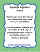 Popsicle Alphabet Match {A Center Sort}