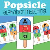 Popsicle Alphabet Matching Center