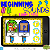 Popsicle Beginning Sounds with Boom Cards